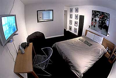 Transworld Snowboard designed room