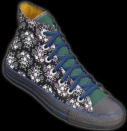 Custom Chuck Taylor hi-top by Converse