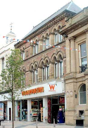 Woolworths storefront