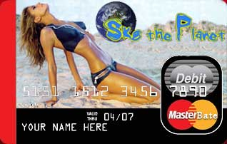 Skate the Planet Credit Card