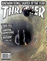 Thrasher Magazine - Skater of the Year Cover