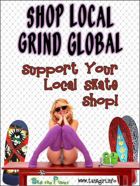Support Your Local Skate Shop Sylss Skateboarding