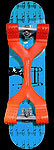 The Wheelbone Skateboard trick trainer Skateboarding skateboard Review