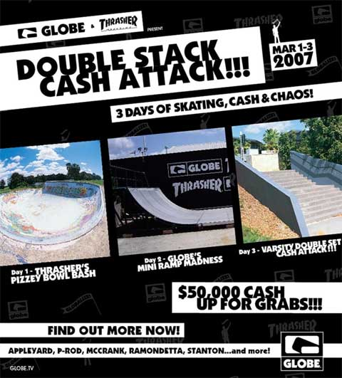 Double Stack Cash Attack poster