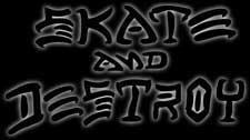 Skate And Destroy Logo
