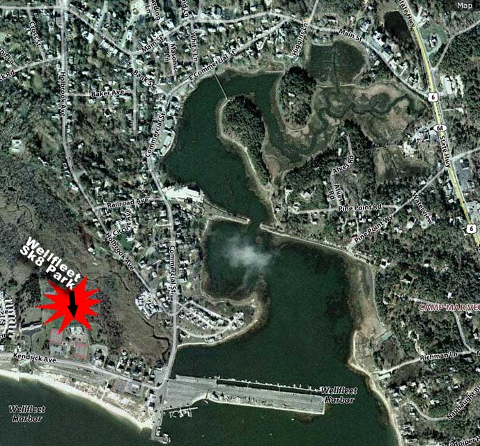Wellfleet satellite map