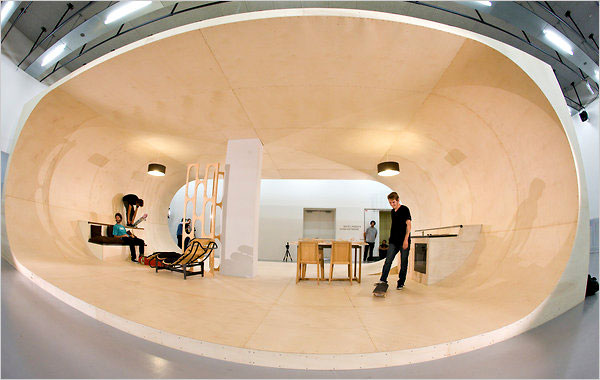 Superieur Completely Skateable House