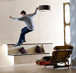 a House in Which Every Surface Is Skateable