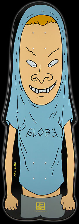 Globe and MTV Beavis skateboard