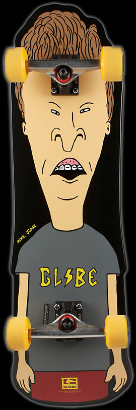 Globe and MTV Butthead skateboard