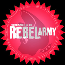Ariel Rebel's Reble Army logo