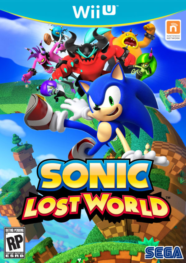 Sonic Lost World for Wii U