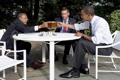 President Obama slams beers