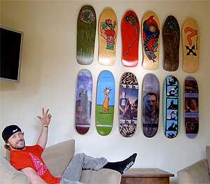 Living Room Skate Museum
